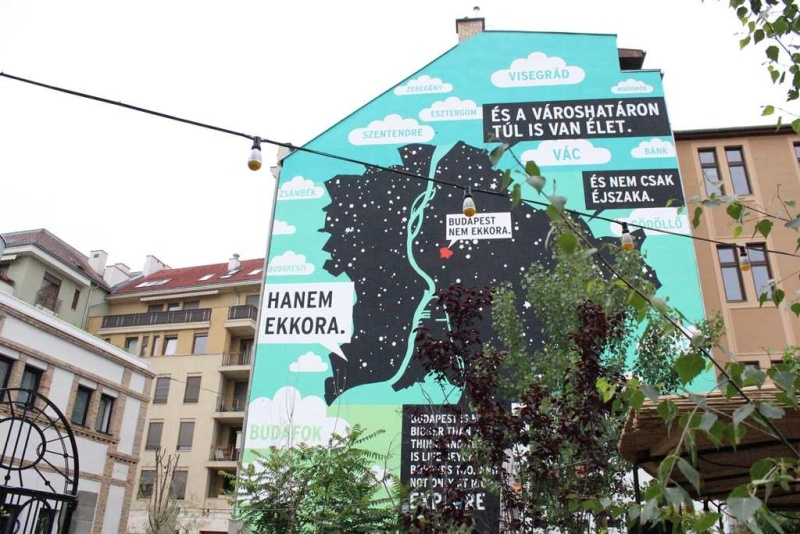 Színes Város Strongbow Budapest - Tűzfal