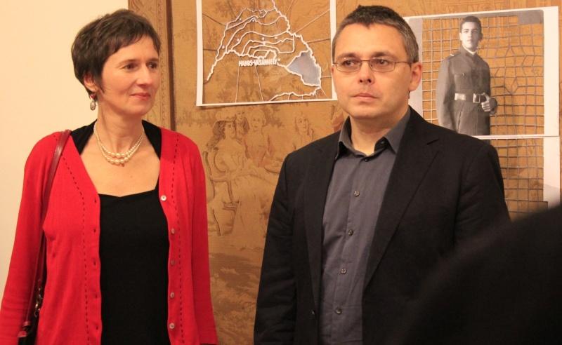 Chilf Mária és Dragomán György - Fotó: Stuhl Ágnes