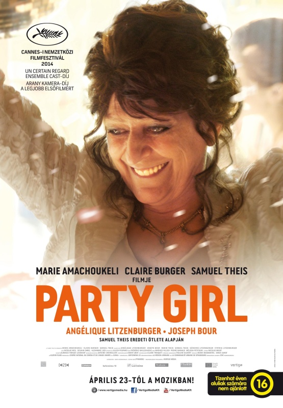 party girl_plakat