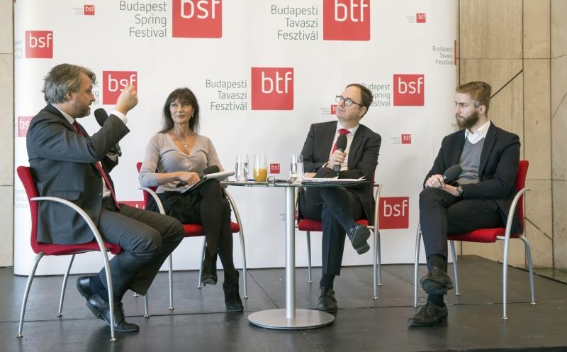 BTF 2017 sajtóbeszélgetés: Bősze Ádám, Bán Teodóra, Káel Csaba, Katona András (c) BTF, Posztós János - Fotó forrása: BTF