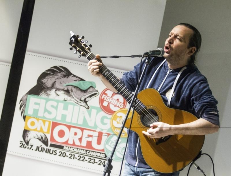 Sajtótájékoztató a Fishing on Orfű fesztiválról - MTI Fotó: Szigetváry Zsolt