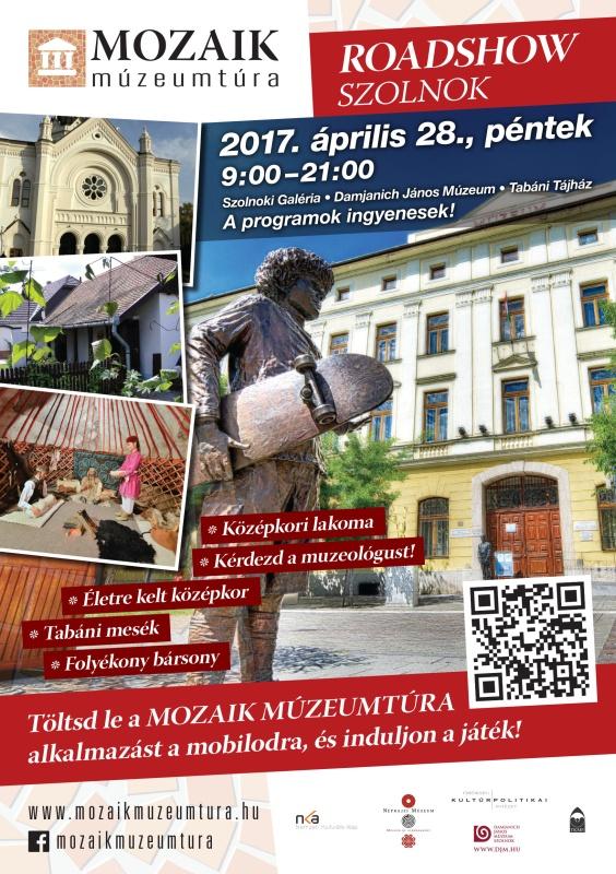 Mozaik Múzeumtúra Roadshow – Szolnok, 2017. 04. 28. - ArtNews.hu